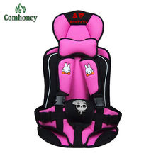 9 Months To 4 Years Kids Portable Baby Safety Seat Children's Chairs In The Car with Thick Sponge Kids Child Car Seats Cushion