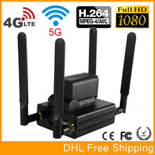 URay 3G / 4G LTE 1080P HD H.264 / H264 HDMI Network Video Streaming Encoder UDP RTMP RTSP HLS Livestreaming Transmitter IPTV
