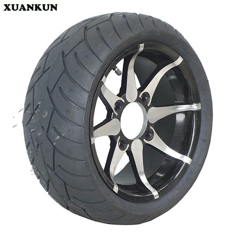 XUANKUN Beach Car Motorcycle Modified 235 / 30-12 205 / 30-12 Inch Aluminum Alloy Wheel Flat Tire xuankun four rounds of beach car karting modified parts motorcycle rear axle assembly rocker drag three disc brakes