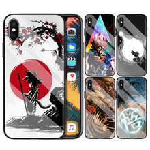 Tempered Glass Hard Case for Apple iPhone 7 8 6 6S X XR XS M