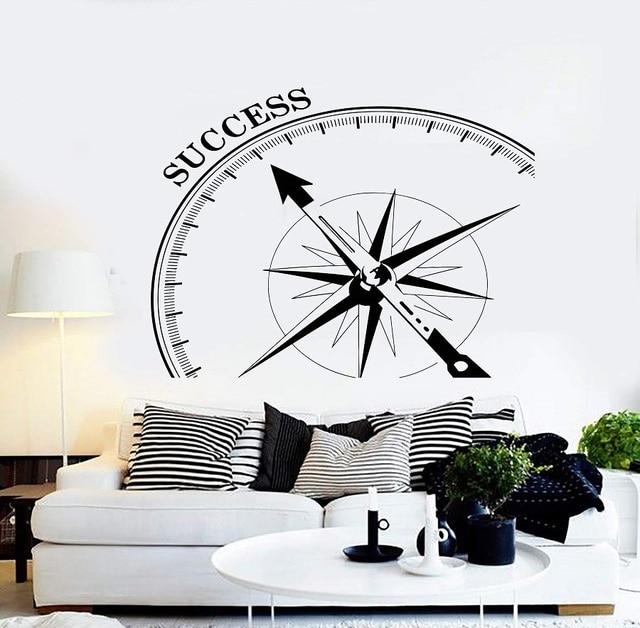 ビニール壁デカール成功オフィス装飾動機ポスターオフィス引用ワークステーションインスピレーションステッカー 2BG24