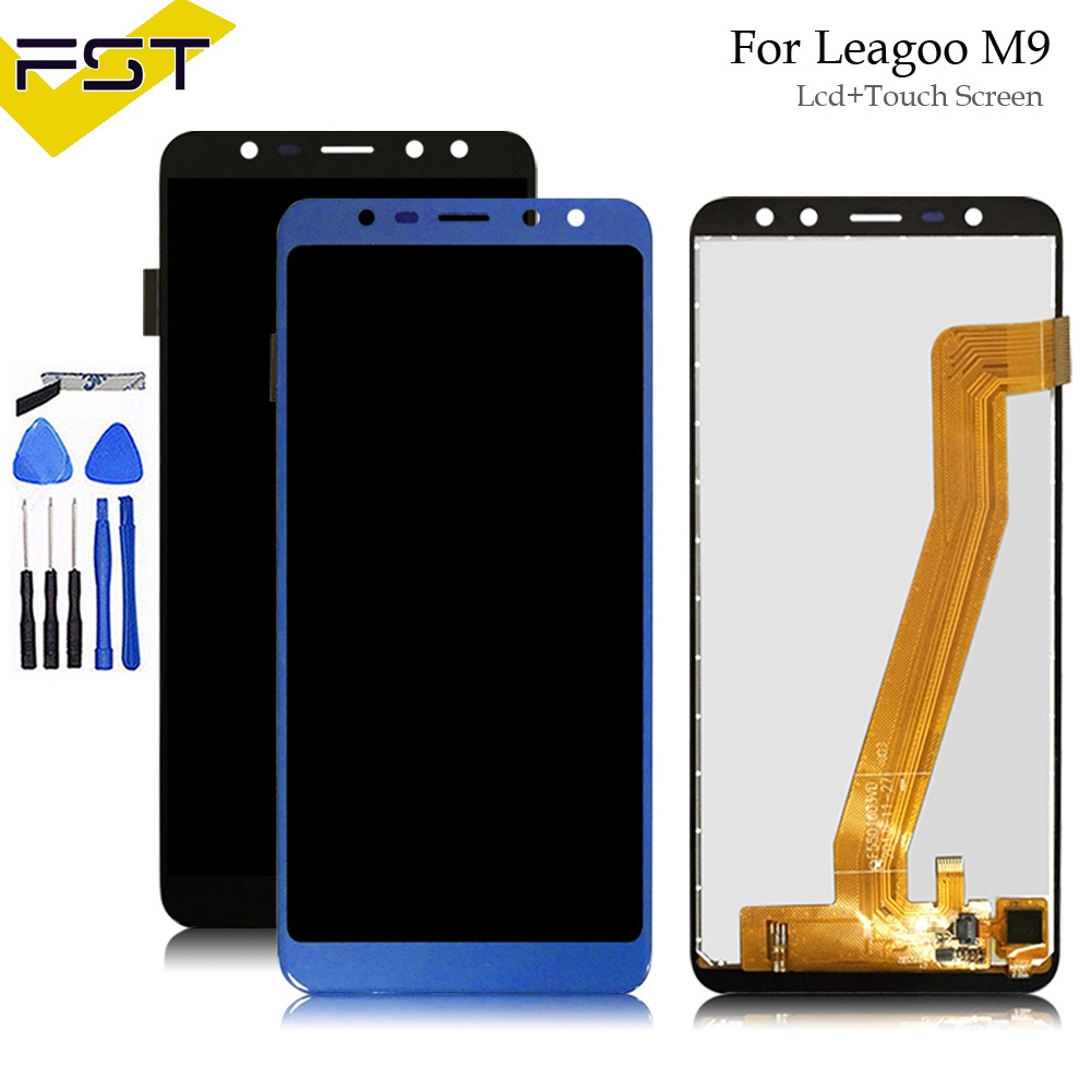 Black/Blue 640*1280 5.5For Leagoo M9 LCD Display+Touch Screen Digitizer Assembly Repair Parts+Tools For M9 LCD ScreenBlack/Blue 640*1280 5.5For Leagoo M9 LCD Display+Touch Screen Digitizer Assembly Repair Parts+Tools For M9 LCD Screen