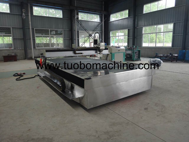 US $28000 0 |small portable water jet cutter for sale ,used waterjet  machines systems ,waterjet glass cutting-in Wood Routers from Tools on