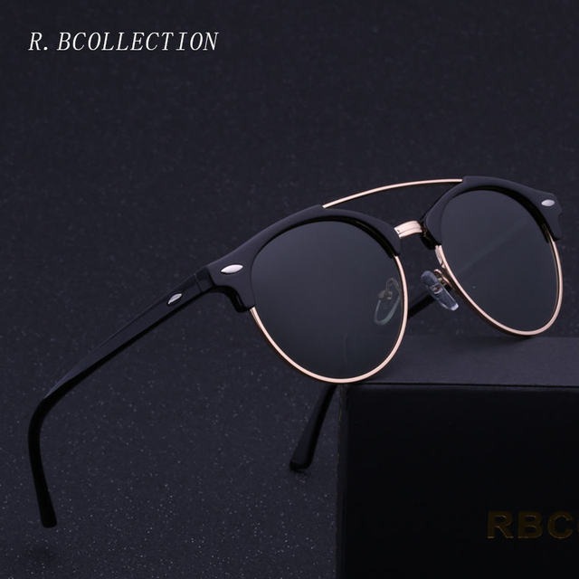 e652e7ed83a Fashion Polarized Sunglasses Men Women Driving Semi-Rimless Metal Frame Sun  Glasses Male Goggle Gafas