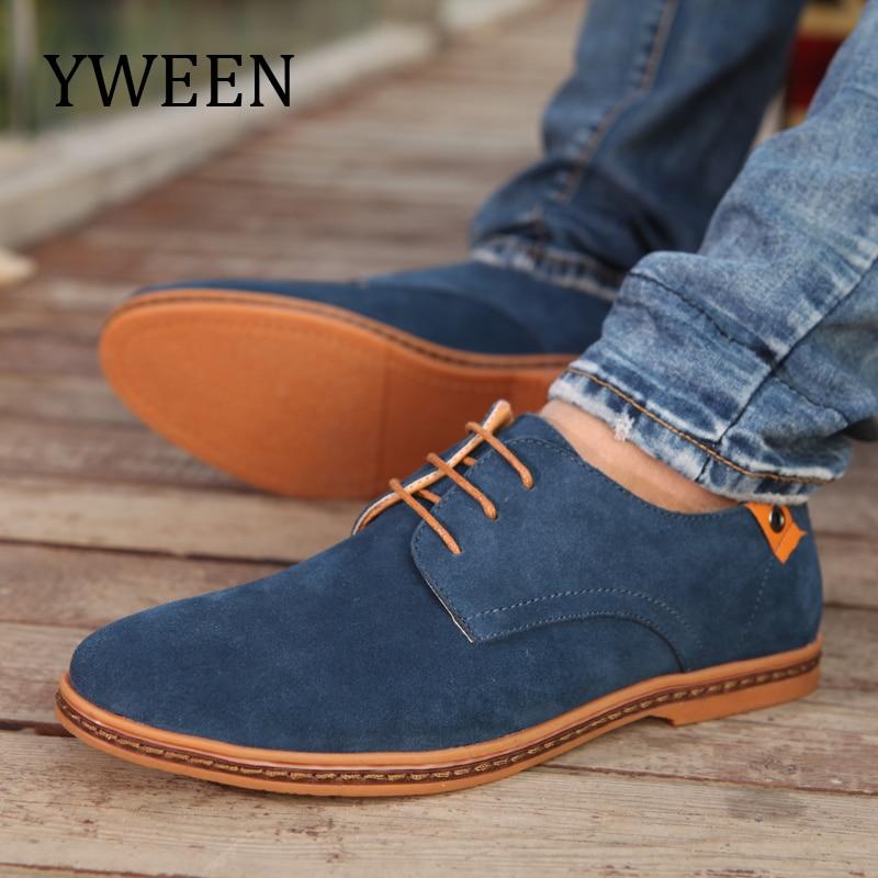 YWEEN Top Fashion Men Casual Shoes Autumn