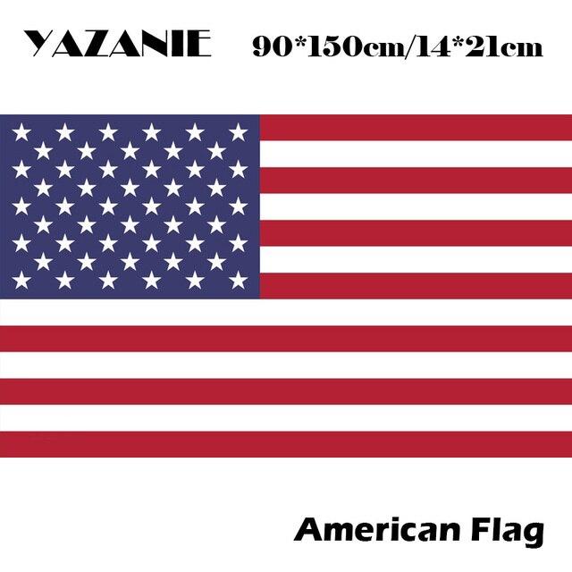 Yazanie 90x150cm Usa National Flag The United States American Custom