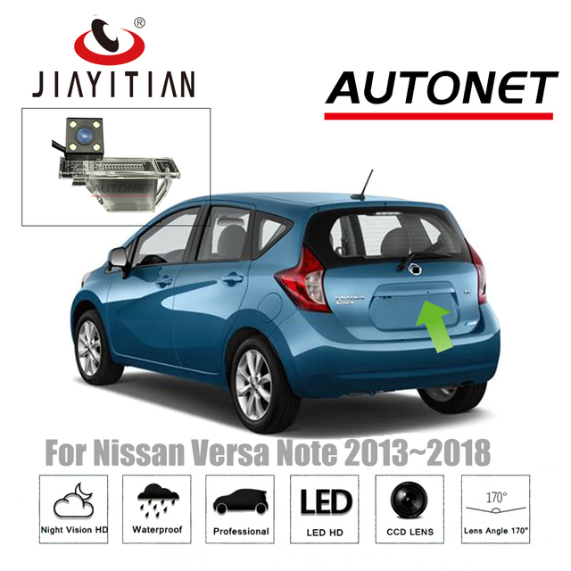 JIAYITIAN Rear View Camera For Nissan Versa Note 2013~2018 Night Vision CCD  Reverse Camera