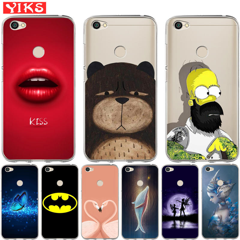 Flower Relief Soft Tpu Case For Xiaomi 8 Se 8se 5x A1 Max 3 Redmi 5 Plus 4x 5a 6a 6 Pro Note 4 4x 5a Girl Tiger Skin Cover 1pcs Various Styles Cellphones & Telecommunications