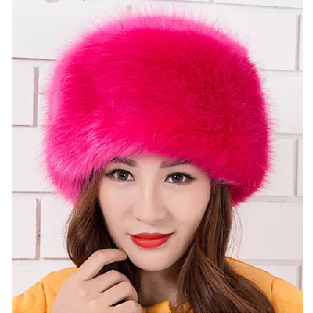 Image 3 - 2018 New Arrival Beanies Woman Hats For Winter White Black Party Hats Lady Warm Classic  Faux Fur Solid Female Skullies Hats-in Women's Skullies & Beanies from Apparel Accessories