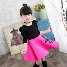 Children Clothing Spring Autumn Girls Princess Dress Long Sleeves Casual Kids Party Dress For Girls Clothes 4 6 8 10 11 Years недорого