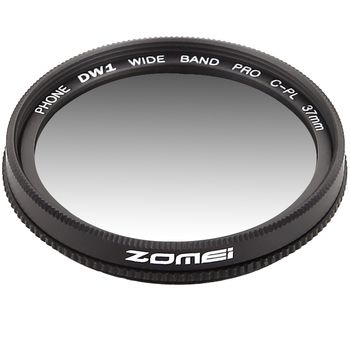 Zomei 37 Mm Professionele Telefoon Camera Circulaire Polarisator Cpl Lens Voor Iphone 7 6S Plus Samsung Galaxy Huawei Htc windows Android