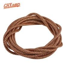 Медный свинцовый провод GHXAMP, 1 метр, 36 подставок, для низкочастотных динамиков 12 дюймов 15 дюймов 18 дюймов 21 дюйм, ПА, низкочастотный динамик, ремонт DIY
