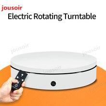 Белый 60 см 360 градусов 3D дистанционного Управление Регулируемый Скорость направление электрические вращающиеся съемочный стол для фотографии CD50
