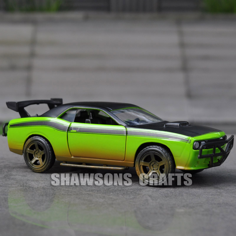 buy jada fast furious 1 32 diecast car model toys dodge challenger srt8 vehicle. Black Bedroom Furniture Sets. Home Design Ideas
