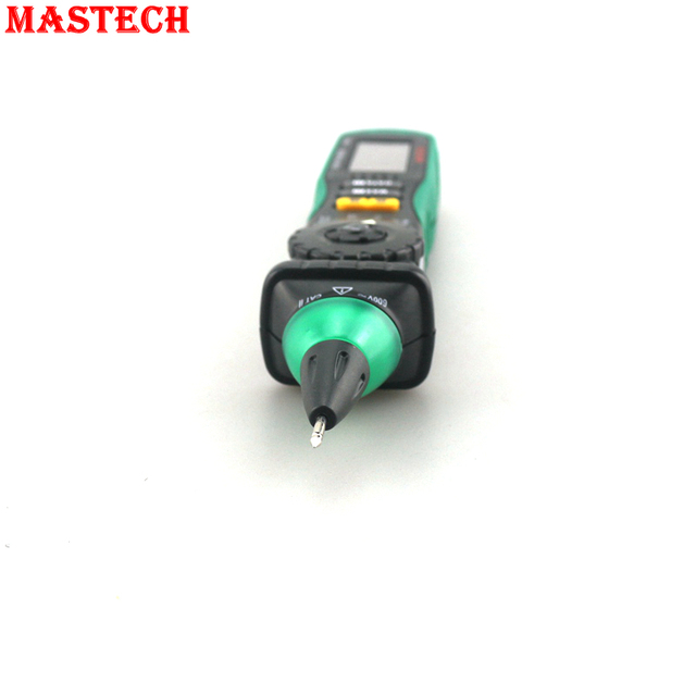 LCD Tester Auto Manual Range AC DC 600V Ohm Test Leads Non-ContactMASTECH MS8211 Digital Multimeter Voltage Detector
