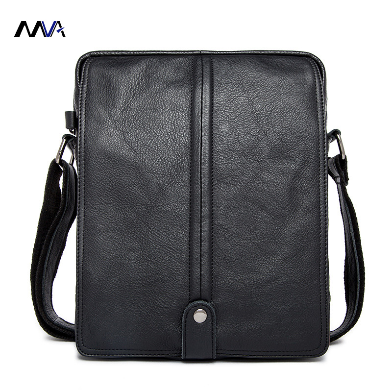 MVA Genuine Leather Men Bags Man Small Messenger Bag Male Fashion Crossbody Shoulder Handbag Men's Travel New Bags men and women bag genuine leather man crossbody shoulder handbag men business bags male messenger leather satchel for boys