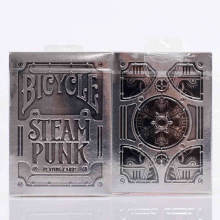 1 Deck Playing Cards Bicycle Silver Steampunk Deck THEORY11 Magic Trick Magic Toys Collectin Edition Poker