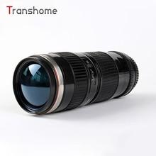 2016 heißer canon 70-200 objektiv tasse weiß schwarz drei generationen edelstahl kaffeetasse reisebecher kamera heiße tasse transhome