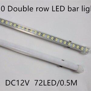 5pcs/lot 72leds 5730 led Bar L