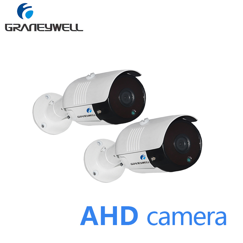 2 PCS AHD 1080P HD CCTV Camera Night Vision Security Home Camera Outdoor Waterproof Bullet Video DVR Surveillance AHD Camera 1080p 2 0mp hd surveillance ahd security camera system night vision 3 6mm lens wide angle cctv camera 24leds ircut for ahd dvr