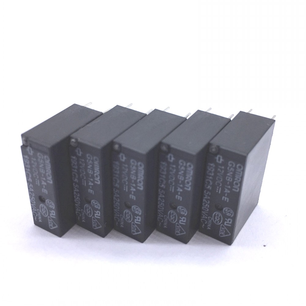 10pcs ORIGINAL G5NB-1A-E-12VDC 12V OMRON 4pins 5A 250VAC Relay