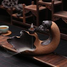 Dharma back aromatherapy incense burner ceramic creative sweet tea tea flow furnace towers smoking incense burner sweet tea revenge