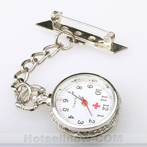 stylish silver tone womens brooch pocket