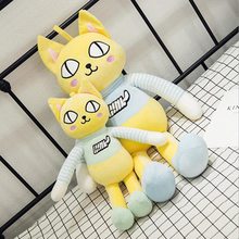 New Creative Cute Cat Plush Toys Stuffed Animal Cats Doll Toy Plush Pillow Children Gifts Valentine's Day Gift super cute 1pc 35cm cartoon creative banana sweet cat plush doll stuffed toy children valentine s day gift