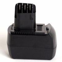 Para Metabo Conheceu 12 V 1500 mAh bateria power tool 6.25473  6.25474  6.02153.51  6.02151.50  6.25473.00  6.25474.00