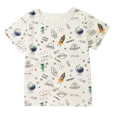 2019 Summer Boys Short Sleeve T-Shirt Girls Cotton Children Half