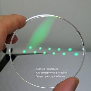Image 2 - Pur titane bleu lumière bloquant les lunettes de lecture hommes 0 ~ + 6.0