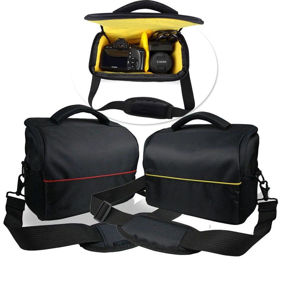 DSLR Cámara bolsa mochila impermeable vídeo para Nikon D90 D500 D5300 D3300 D3100 D750 D7000 D3400 D3200 Canon 750D 1300D 650D
