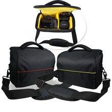 DSLR Камера сумка рюкзак видео Водонепроницаемый чехол для Nikon D90 D500 D5300 D3300 D3100 D750 D7000 D3400 D3200 Canon 750D 1300D 650D