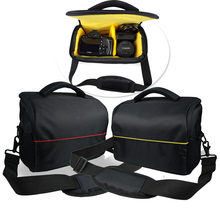 DSLR Camera Bag Backpack Video Waterproof Case for Nikon D90 D500 D5300 D3300 D3100 D750 D7000 D3400 D3200 Canon 750D 1300D 650D(China)