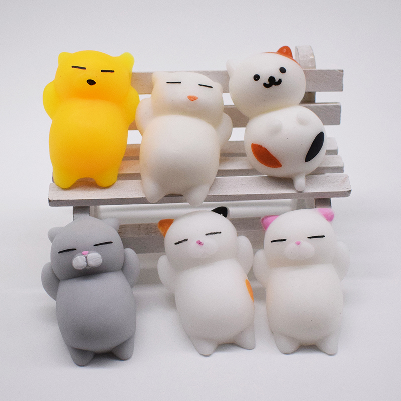 Squeeze Toys For Children Squishy Cat Antistress Soft Cute Slow Rising Gadgets Doll Cute Stretchy Animals Funny Toy Wholesale