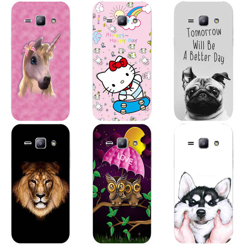 Luxury Cartoon Patterned Case for Samsung Galaxy Core i8260 GT ...