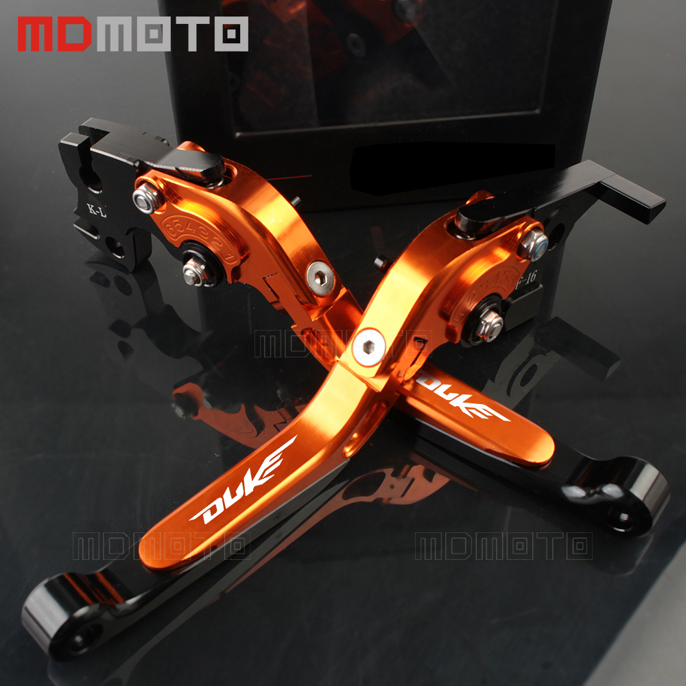Motorcycle handlebar CNC Adjustable Foldable aluminum brake clutch levers For ktm rc 390 duke 125 200 390 RC 125 200  2013-2017 kemimoto for ktm duke 125 200 390 2011 2015 motorcycle handlebar drag bar clamp gel grips mount risers kit