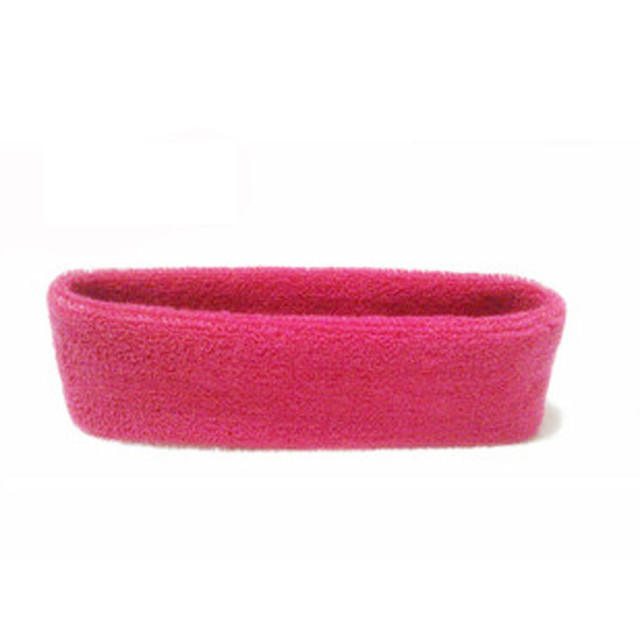 Women/Men Cotton Sweat Sweatband Headband Yoga Gym Stretch Head Band For Sport Belts Elasticity Sweat Bands Sports Safety 5
