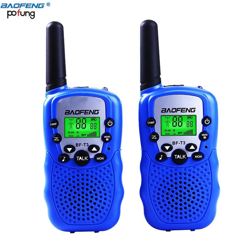 imágenes para T-3 baofeng walkie talkies de mano para niños y adultos, 462-467 mhz frs/gmrs 2 vías de radio transceptor para niños y jóvenes (1 Par)