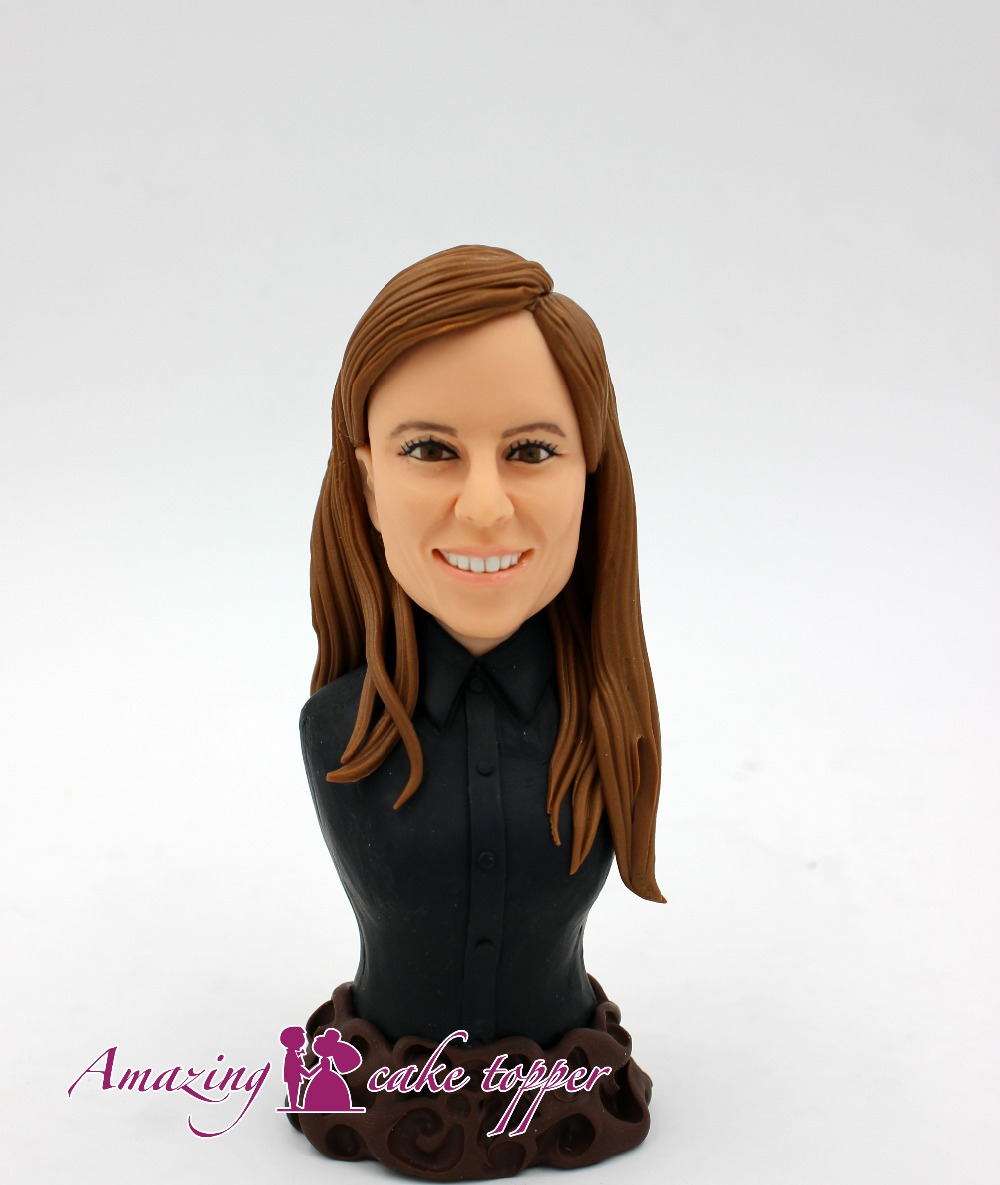 2019 AMAZING CAKE TOPPER Toys  Self-remember Gifts  Ideas Customized Figurine Valentine's Day
