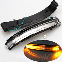 MZORANGE For Nissan X-Trail Rogue Qashqai murano 2014 2015 2016 2017 Rearview mirror Turn Signal lights Side Repeater LED Lamp flowing turn signal lamp rearview mirror running light for nissan x trail qashqai 2015 2018