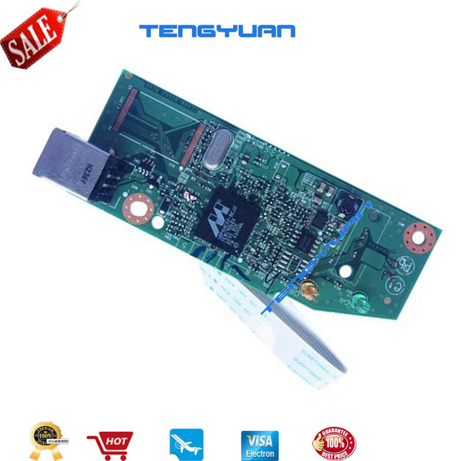 New Original laser jet CE668-60001 RM1-7600-000CN for HP laserjet P1102 P1106 P1108 P1007  formatter board Printer part on sale 100% new original laser color jet for hp3550 3700 3500 transfer kit q3658a printer part on sale
