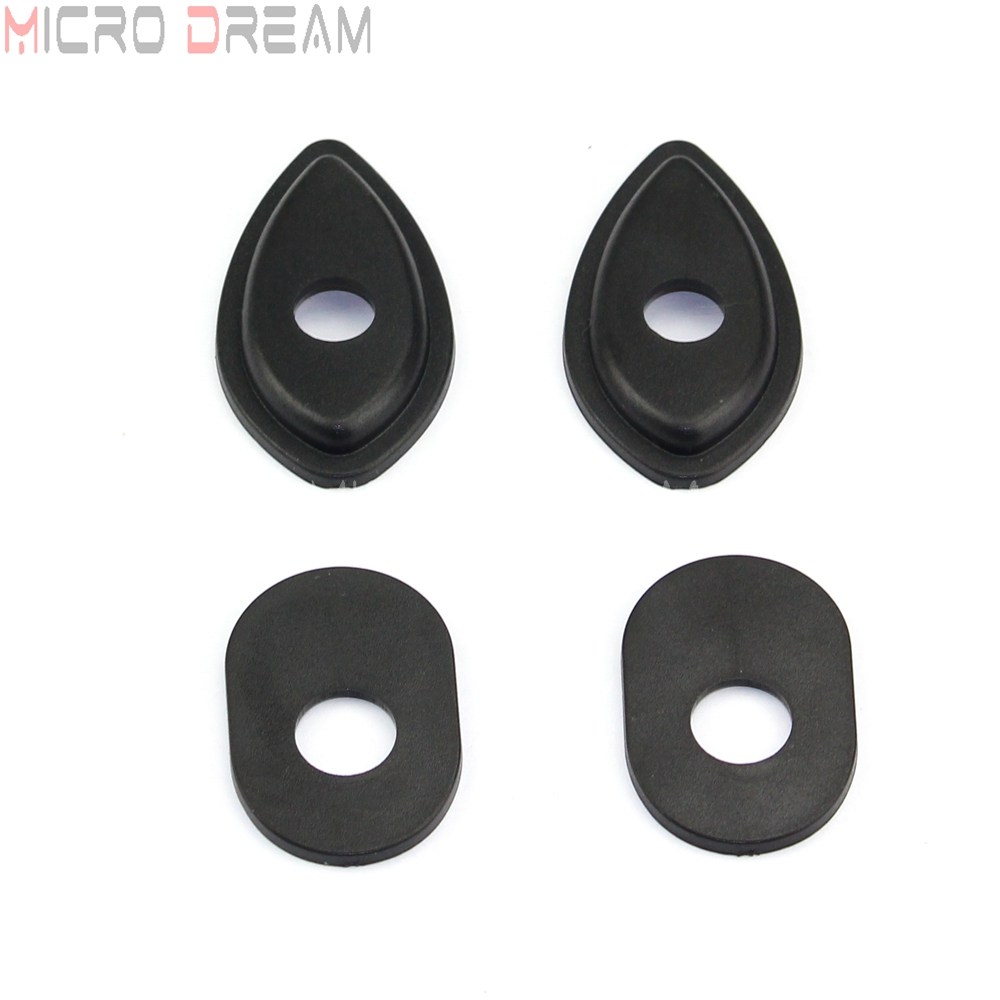 Front & Rear Turn Signal Adapter Motorcycle Indicator Spacer For Honda CBR 400R 500R 650F CB500 CB650 CRF250L NC700 NC750 11-18