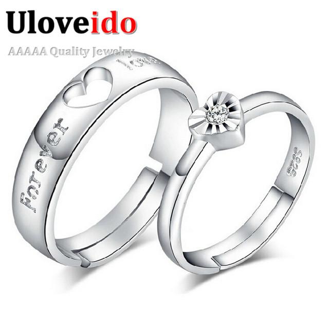 15 off adjustable couple commitment rings for men and women wedding ring valentines day charms - Men And Women Wedding Rings