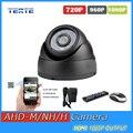 AHD-H TEATE HD 2MP 1080 P câmera de segurança indoor dome IR corte fileter 24 pcs leds Night Vision IR Segurança Vigilância AHD câmera