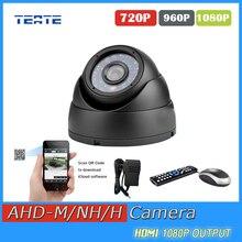 TEATE HD AHD-H 2MP 1080P security indoor dome camera IR cut fileter 24pcs leds Night Vision IR Security Surveillance AHD Camera