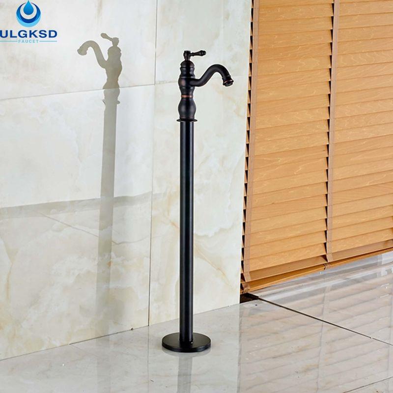 ộ_ộ ༽Ulgksd Wholesale and Retail Black Brass Bathtub Tub Faucet ...