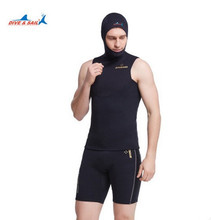 1.5mm Men's SuitSwimwear For Scuba Diving Spear Fishing Snorkeling Wetsuits Men Waterproof Warm Professional Surfing DivingSuit