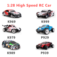Wltoys 1:28 RTR RC Car 2.4G 4WD 4 Channles 30KM/H RC Drift Car Racing Car K969/K979/K989/K999/P929/P939 6 Styles For Selection