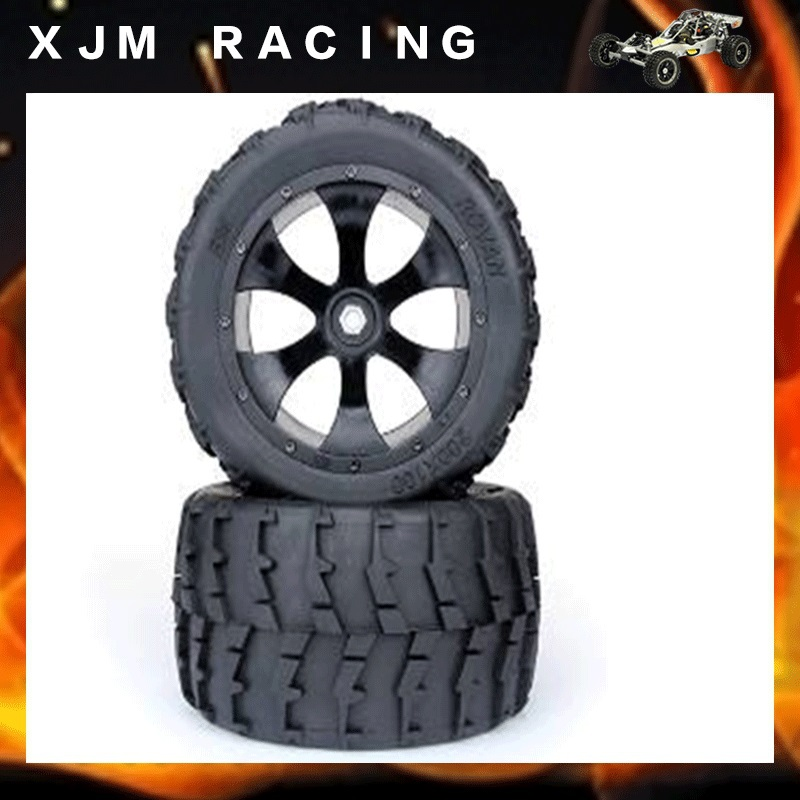 1/5 rc car racing toy parts,BM bigfoot two generation tire( x 2pcs/set)assembly for baja 5b parts